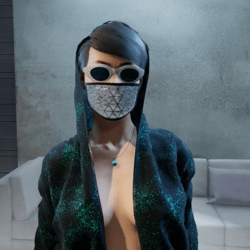 MoonLight FaceMask female