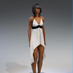 Dress Holly 2.0 white gift