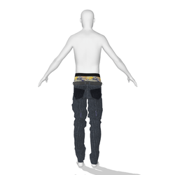 Sagging Male Jeans 002