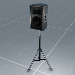 Stage PA Speaker And Tripod Set