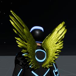 Wings Golden Male