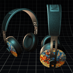 Polygon ~ Headphones Colorful