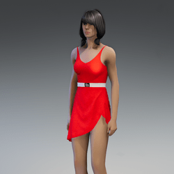 Dress Lara 2.0 red