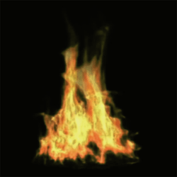Animated Campfire