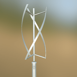 Wind Turbine animated