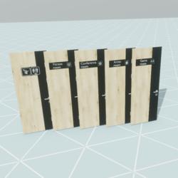 door room set