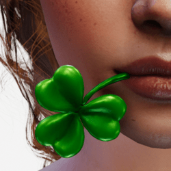 Clover in Mouth