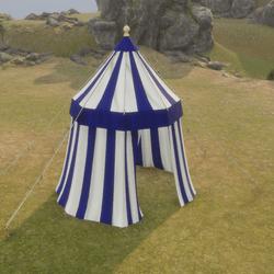 Tent Single Pole Blue