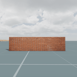 Low Poly Wall 2 (TM)