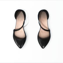 AV 2.0   Flat formal shoes -  black