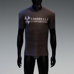 Umbrella Corporation T-Shirt Charcoal
