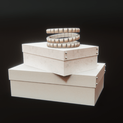 Boxes and Bracelet