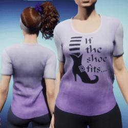 Womens Tee - Shoe
