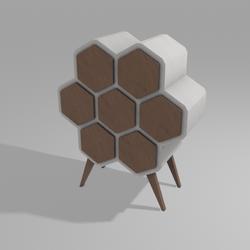 Honey cabinet