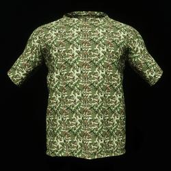 Green Camo Male T-Shirt