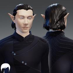 Hair - male v02