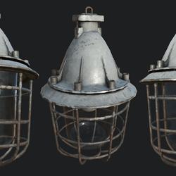 Bunker Lamp 1C