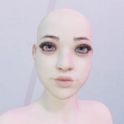 Cute Stylised Female Avatar