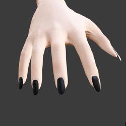 Nails - Black - Long