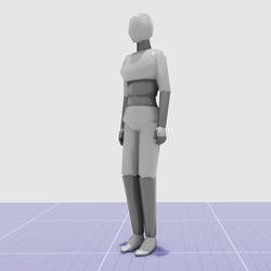 Minimum impact avatar