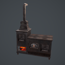 Vintage Style Stove