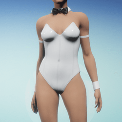 Sexy Bunny Suit - Bright White