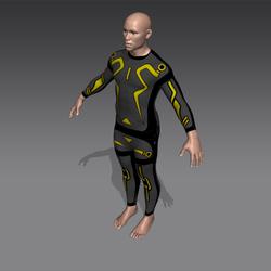 Virus Grid Suit (M)