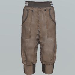 Pants short unisex DB