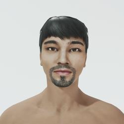 Quan - Asian Male Avatar
