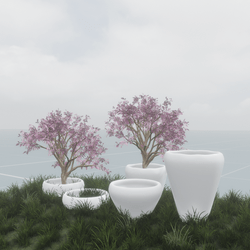 FLOWERS/TREE POT - ENVIRONMENT DECORATION