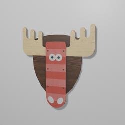 Christmas Deer Emblem