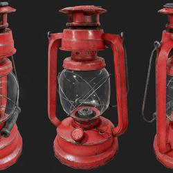 Oil Lamp B