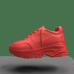Groudon Hyper Sneakers female