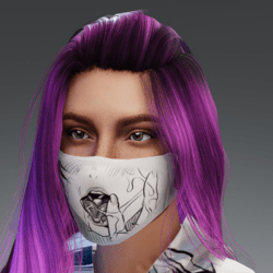 Ahegao Mask 0