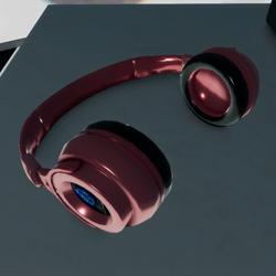Headphones Brand Resale PinkMetal