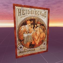 Heidsieck and Co 1901 Alphonse Mucha