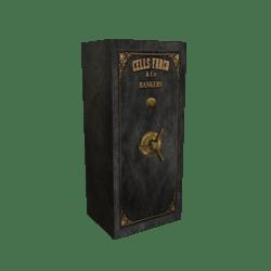 Scripted Vintage Bank Safe