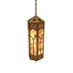 Bronze Cathedral Light