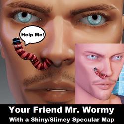 Mr. Wormy - The Friendly Worm