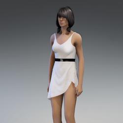Dress Lara 2.0 white