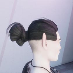 Mens Hair Bun
