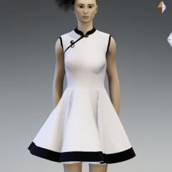Vintage dress white