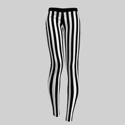 Leggings Maddy Stripes B&W 2.0
