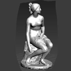 Statues Greek  Water Nymph