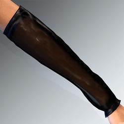 Sleeves Addon Bleck Latex Transparent