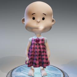 Sweet Valentine Dress for Cutie (minis)