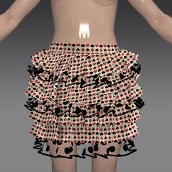 skirt queen of hearts