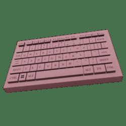 PC KEYBOARD PINK