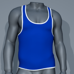Sexy Men Tank - Blue