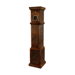Gothic Grandfater Clock